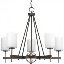 Progress P4706-20 - Compass Collection Five-Light Linear Chandelier