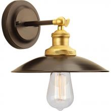 Progress P7156-20 - Archives Collection One-Light Adjustable Swivel Wall Sconce
