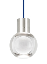 Tech Lighting 700TDMINAP11CUS-LED930 - TD-MINA 11 CL BLUE SN-LED930