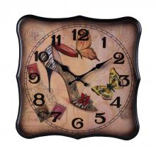 Sterling Industries 118-012 - BUTTERFLY SHOE CLOCK