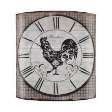 Sterling Industries 171-008 - Stylized Rooster Wall Clock