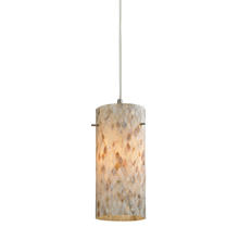 ELK Lighting 10442/1 - Capri 1 Light Pendant In Satin Nickel And Capiz